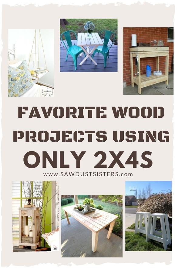 Favorite-2x4-projects Sawdustsisters.com